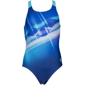 arena Cherry Pro Back One Piece Swimsuit Girls, royal/martinica